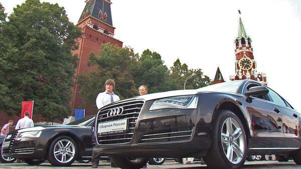 Призеры Олимпиады рассказали, что будут делать с подаренными Audi