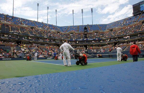 Корты US Open