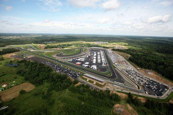 Гоночная трасса Moscow Raceway