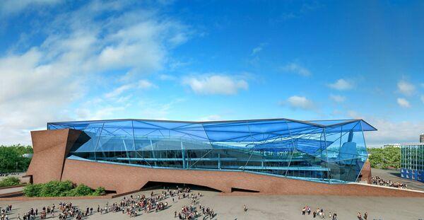 План реконструкции стадиона Шинник в Ярославле
