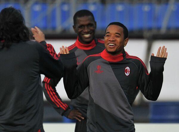 Тренировка ФК Милан