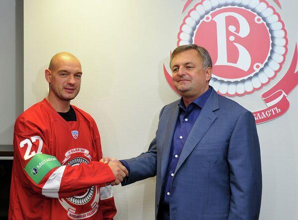 Андрей Марков (слева) и Михаил Головков