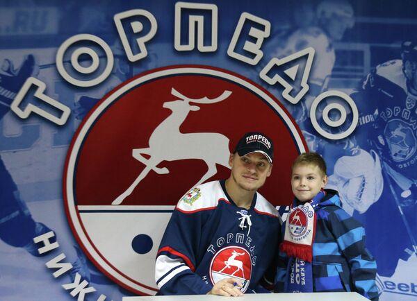 Игрок Торпедо Антон Волченков