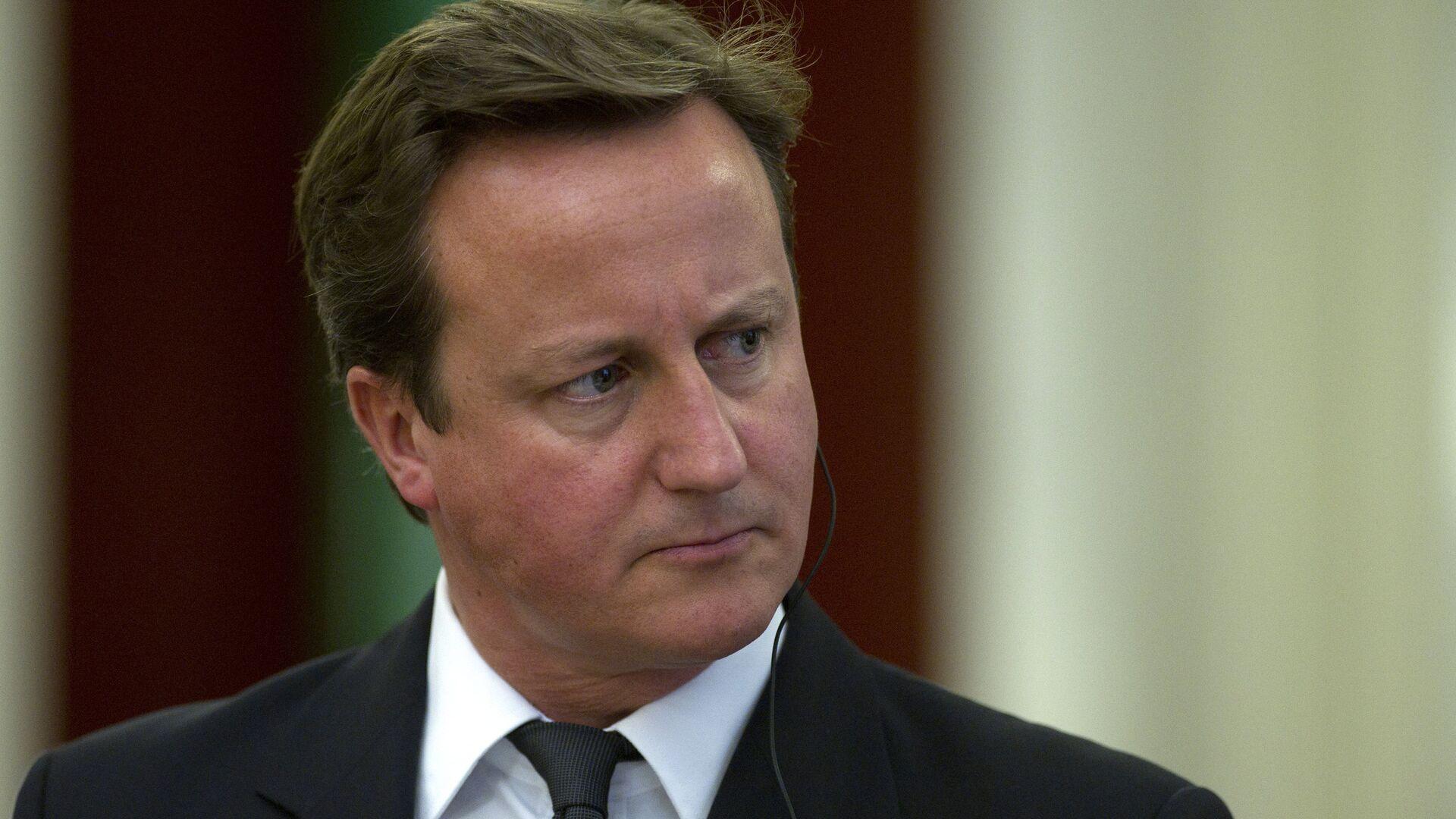 Премьер-министр Великобритании Д.Кэмерон выступил перед журналистами в Кремле - РИА Новости, 1920, 13.05.2021