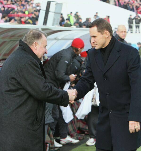 Владимир Федотов и Андрей Кобелев