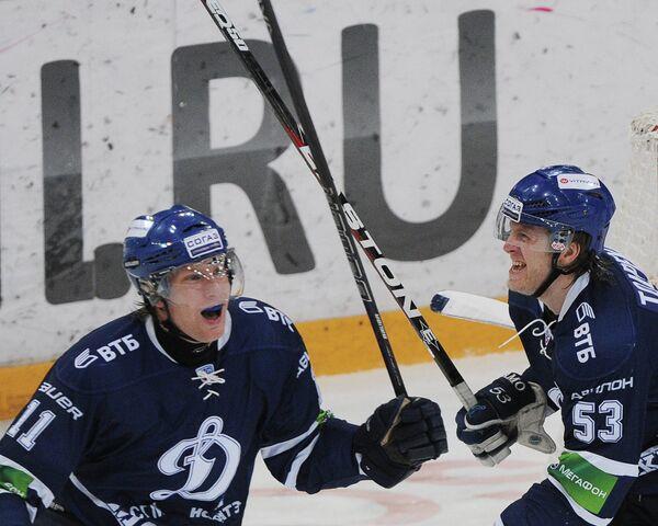 Рихард Йюнге и Денис Толпеко (слева направо)