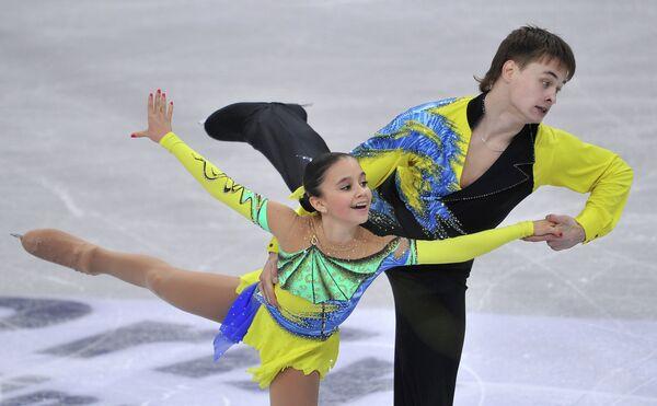 Лина Федорова и Максим Мирошкин