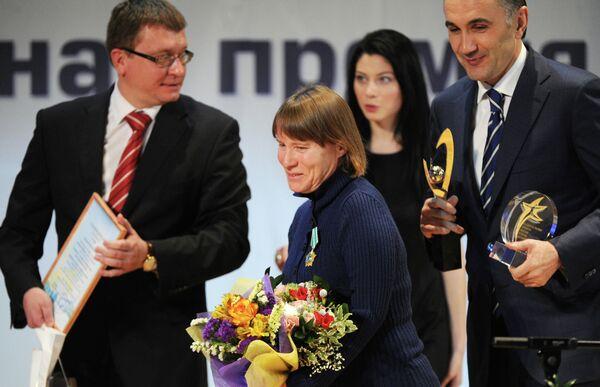 Чемпионка XIV Паралимпийских летних игр 2012 года в Лондоне Раиса Чебаника