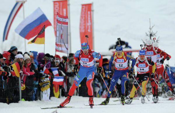 Дмитрий Малышко, Фредрик Линдстрем и Эрик Лессер (слева направо)