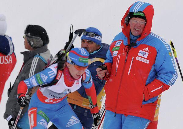 Вольфганг Пихлер (справа) и Екатерина Глазырина