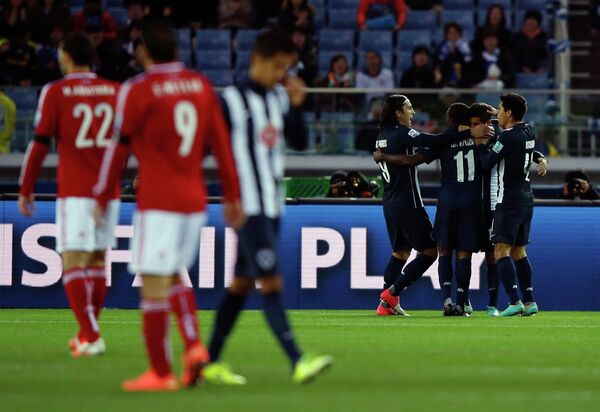 Игровой момент матча Аль-Ахли - Монтеррей