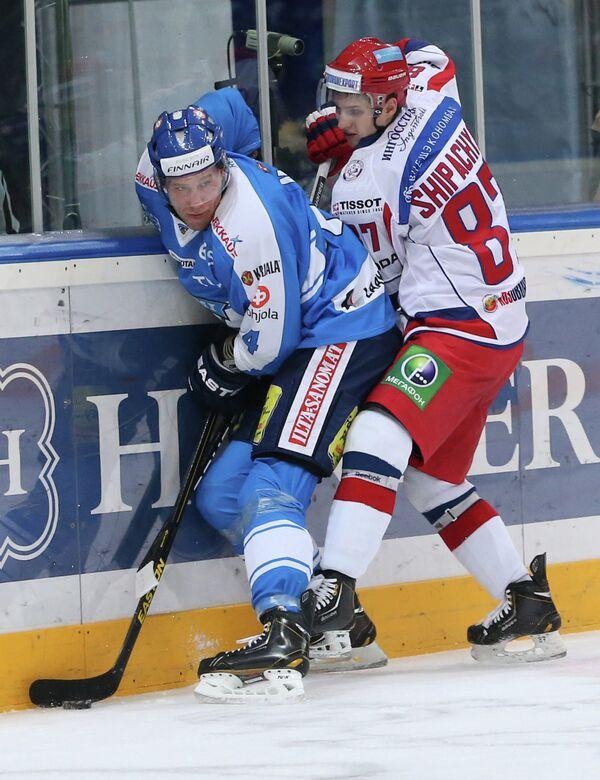 Илари Меларт и Вадим Шипачев (слева направо)