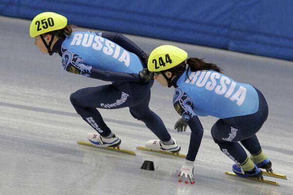 Ольга Белякова и Вера Миляева