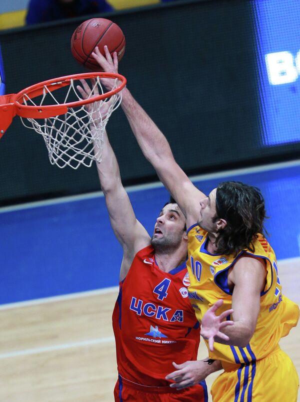 Милош Теодосич (слева) и Крешимир Лончар