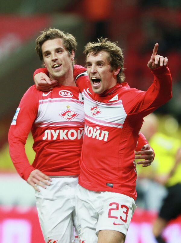 Кирилл и Дмитрий Комбаровы (слева направо)