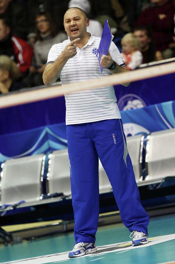 Главный тренер волейбольного клуба казанского Динамо Ришат Гилязутдинов