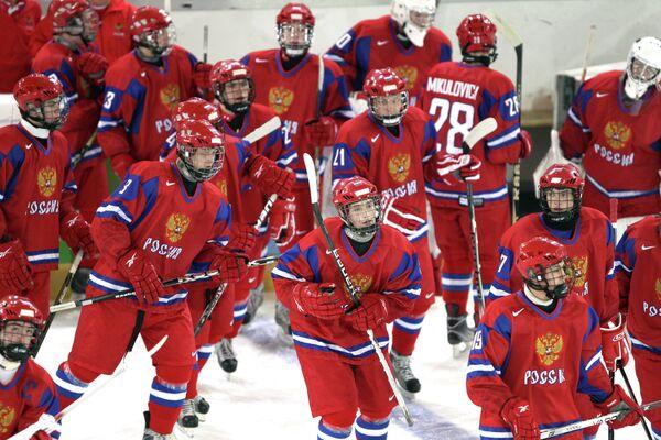 Юношеская сборной России