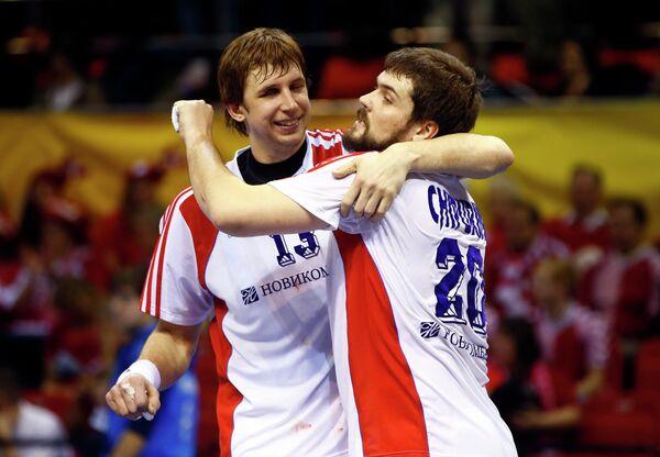 Российские гандболисты