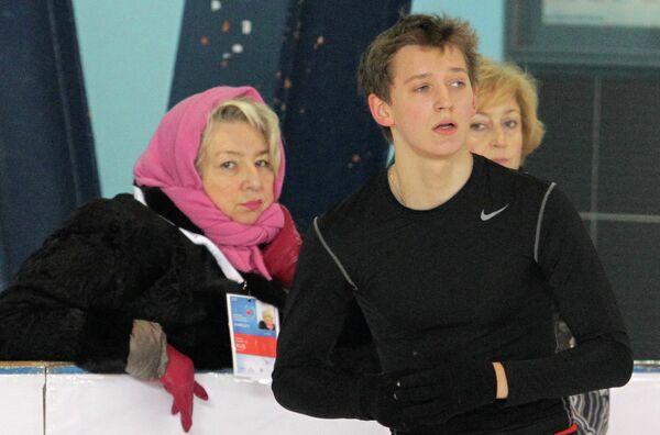 Татьяна Тарасова (слева) и Максим Ковтун
