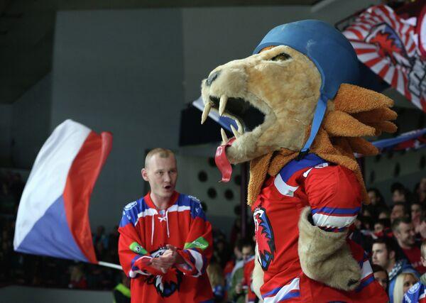 Болельщики ХК Лев (Прага)