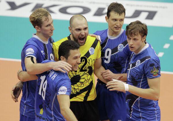 Волейболисты Динамо (Краснодар)