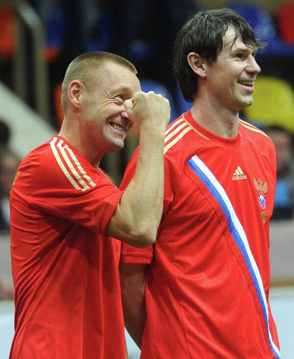 Андрей Тихонов (слева) и Егор Титов