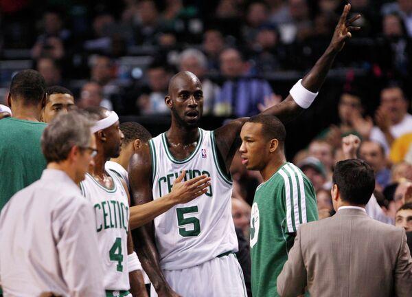 Баскетболист Бостона Кевин Гарнетт