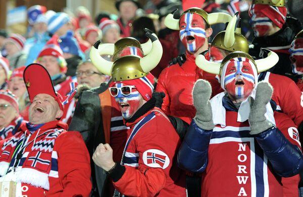 Норвежские болельщики