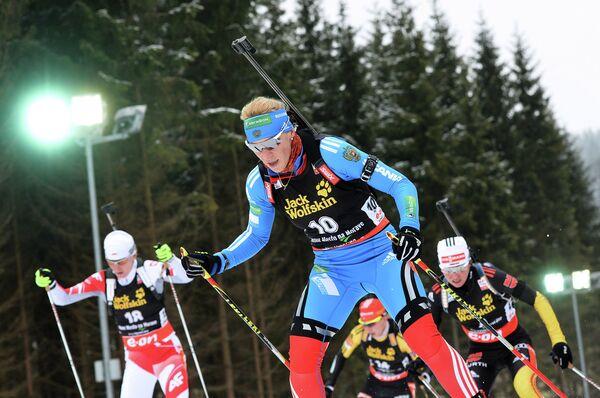 Ольга Зайцева (на первом плане)