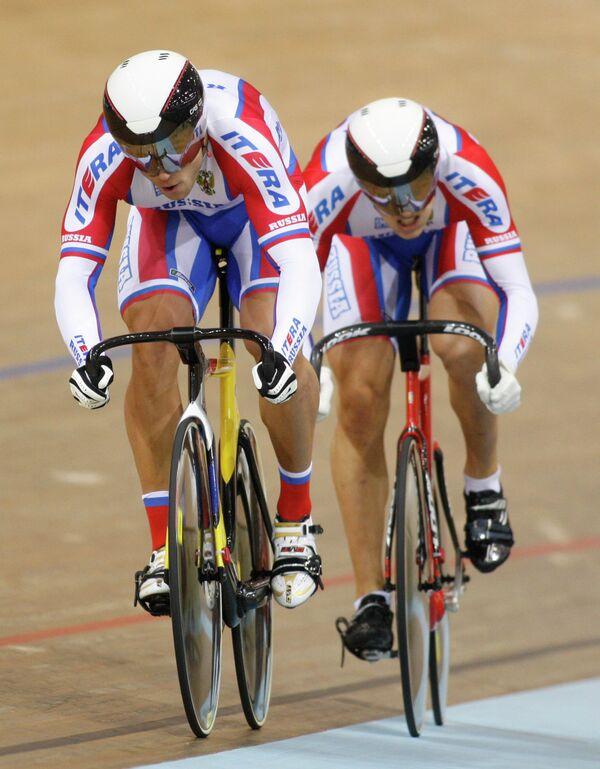 Команда России по велоспорту на треке