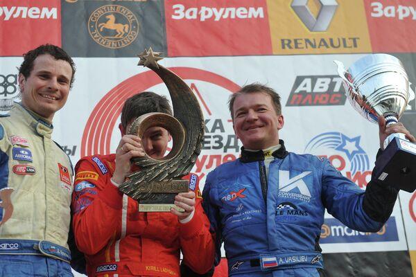 Дмитрий Брагин, Кирилл Ладыгин и Алексей Васильев (слева направо)