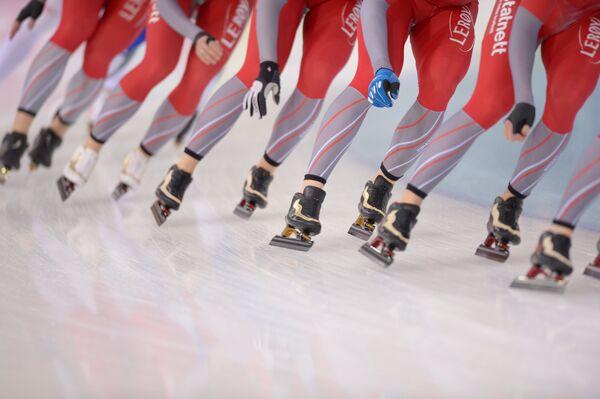 Конькобежный спорт. Заглушка