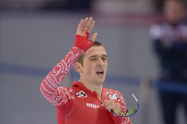 Россиянин Денис Юсков в мужском забеге на 5000 м