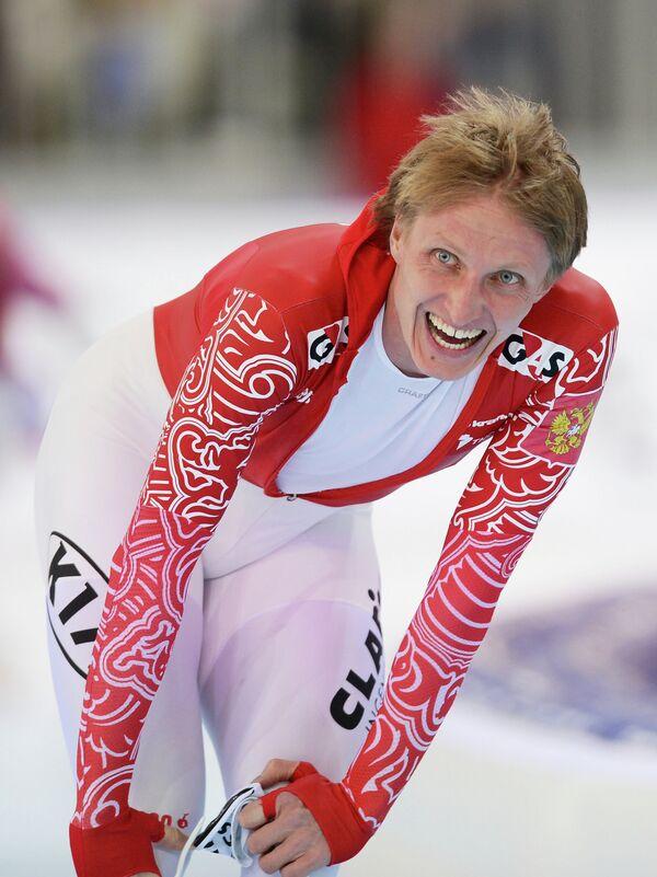 Россиянин Иван Скобрев в мужском забеге на 5000 м