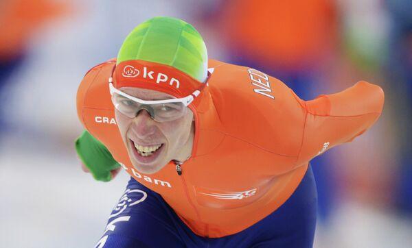 Голландский конькобежец Йоррит Бергсма