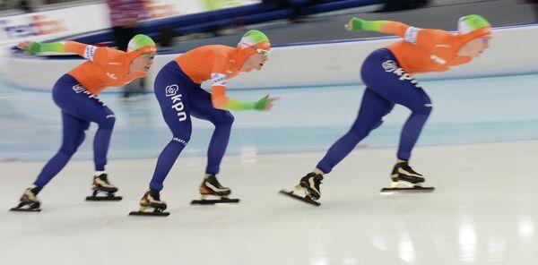 Cборная Голландии по конькобежному спорту