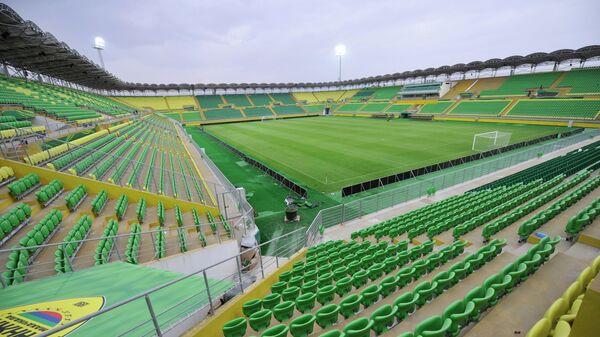Стадион Анжи-Арена в Каспийске