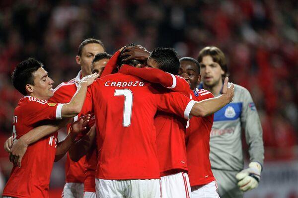 Футболисты португальской Бенфики