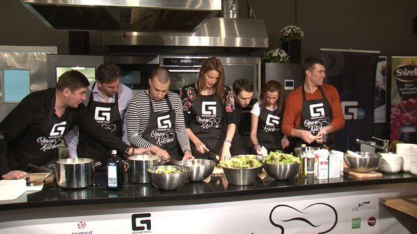 Рыба от Сафиной и крем-суп от Дрозда: чемпионы составили олимпийское меню