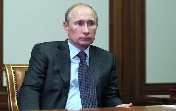 Владимир Путин встретился с А.Островским