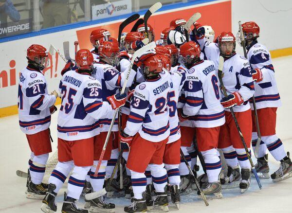 Игроки юниорской сборной России