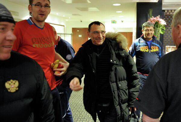 Главный врач сборной России по хоккею и московского ХК Динамо Валерий Конов