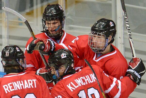 Хоккеисты Канады