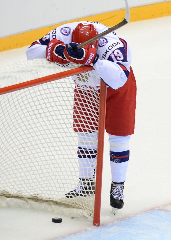 Хоккей. Юниорский ЧМ. Матч Россия – США