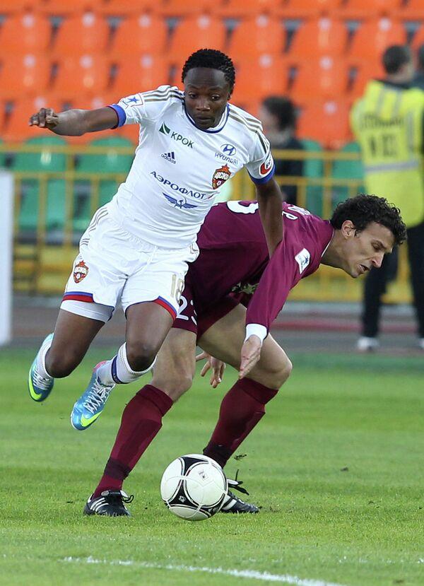 Ахмед Муса (слева) и Роман Еременко