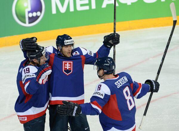 Игроки сборной Словакии