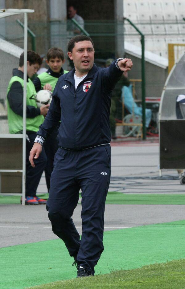 Тренер Алании Владимир Газзаев