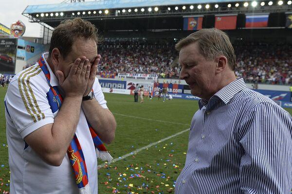 Леонид Слуцкий (слева) и Сергей Иванов