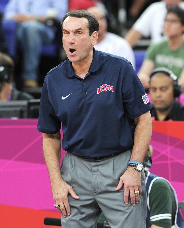ОИ - 2012. Баскетбол. Мужчины. Матч США - Испания