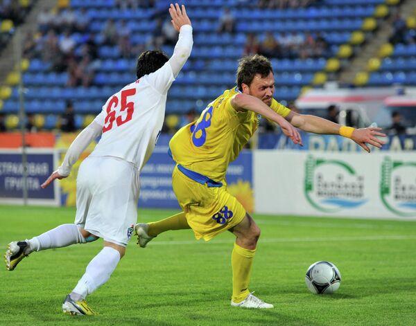 Игровой момент матча Ростов - СКА - Энергия
